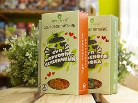 Суп ™  ОРГТИУМ  морковно-чечевичный ™  ОРГТИУМ  180 гр.