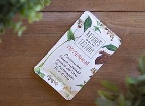 Гречишный шоколад ™  Nature's own factory  белый 20 гр