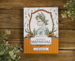 Мармелад ™  ВКУССТОРИЯ  с облепихой 230 гр.