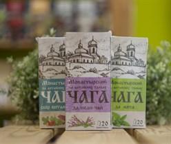 Травяной сбор ™ Chagoff  ™  Монастырский  на алтайских травах  Чага да иван-чай  30 гр.