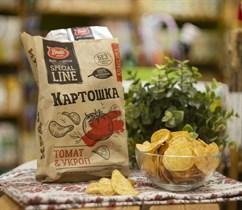Чипсы картофельные ™  Bruto snacks  Томат и укроп 70 гр.