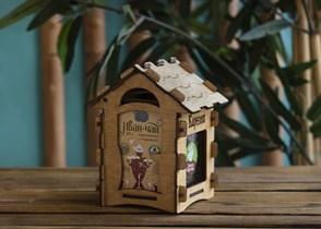 Подарочный домик  ™  Мама Карелия  иван -чай карельский с черникой 40 гр