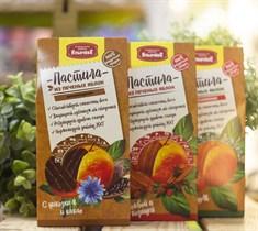 Пастила яблочная™  Кондитеская фабрика Ильичёва  с цикорием и какао  90 гр
