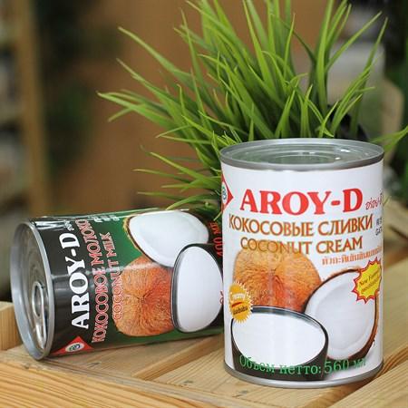 Кокосовые сливки ™  AROY-D , 560 мл. - фото 6091