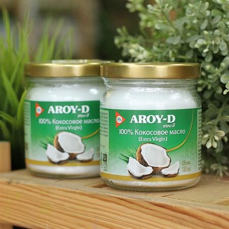 Кокосовое масло ™  AROY-D  (extra virgin) , 180 мл. - фото 6093