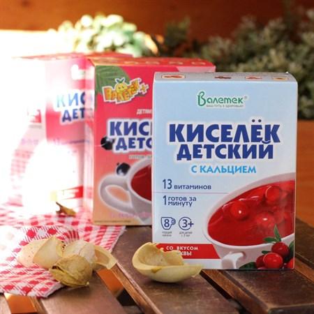 Кисель ™  Витошка  с витаминами и кальцием КЛЮКВА (25гр. -8 шт) - фото 6103