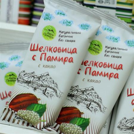 Батончик шелковица ™  Дары Памира  с какао 20 гр. - фото 6111