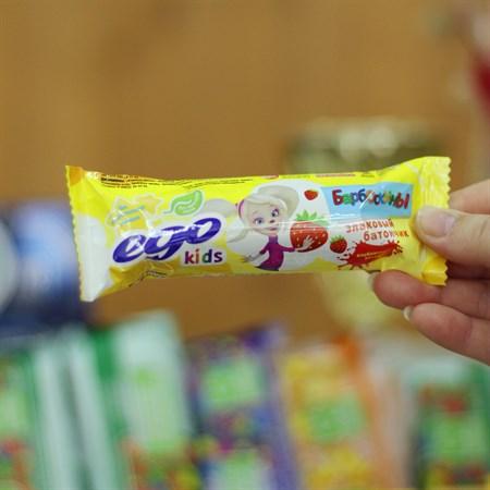 Батончик злаковый ™  EGO KIDS   Клубничный десерт  25 гр. - фото 6118