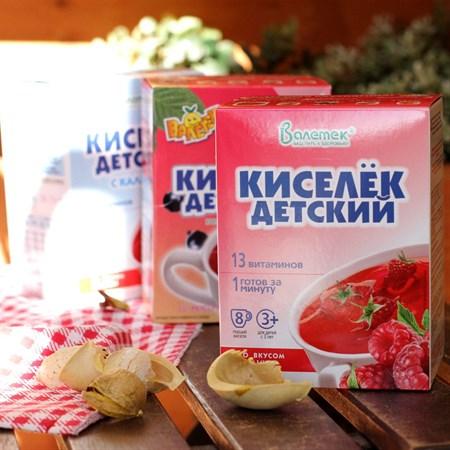 Кисель ™  Витошка  с витаминами МАЛИНА (25гр. - 8 шт) - фото 6151