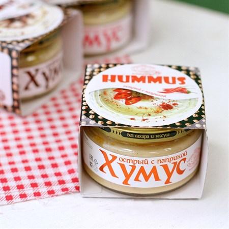 Закуска ™  Тайны Востока-хумус  острая с паприкой 200 гр - фото 6158