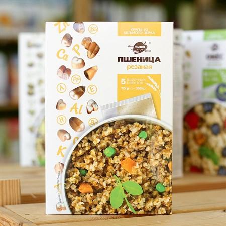 Крупа ™  Образ жизни  в варочных пакетах  Пшеница резаная , 350 гр. - фото 6171