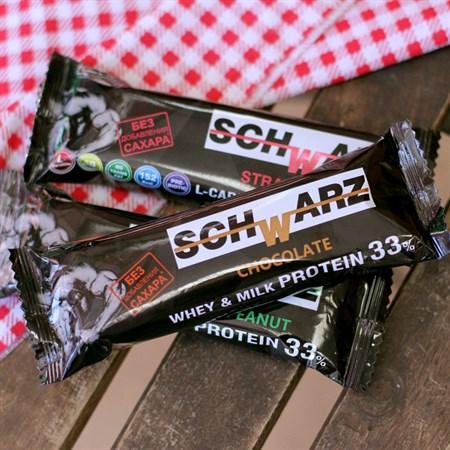 Батончик протеиновый ™  SCHWARZ  33%  Шоколад  с выс. содерж. протеина 50 гр. - фото 6272