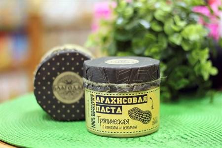 Арахисовая паста ™  Благодар  Тропическая, 300 гр - фото 6382