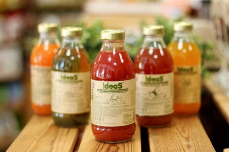 Сок ™  IDEAS  томат-огурец-перец-лук-чеснок 0,33 л. - фото 6434