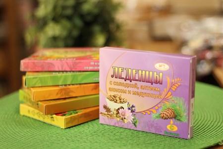 Леденцы ™  Родники Сибири  с солодкой, алтеем, анисом, медуницей - фото 6456