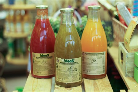 Сок ™  IDEAS  яблоко-огурец-сельдерей-лимон-имбирь,1л. - фото 6534