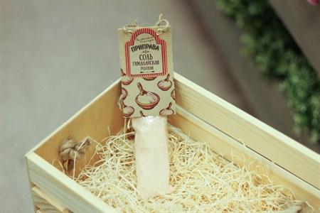 Приправа Соль гималайская пищевая розовая ™  Зеленая Улица  85 гр. (Профи) - фото 6536