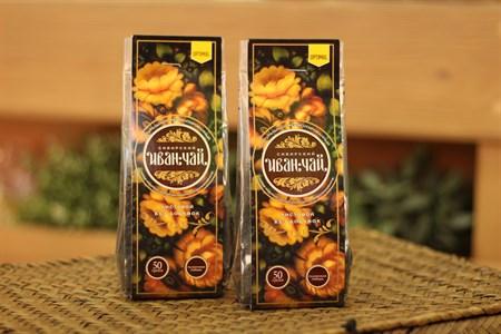 Иван-Чай ™  Сибирский Иван-Чай  зеленый листовой, пакет 50г - фото 6564