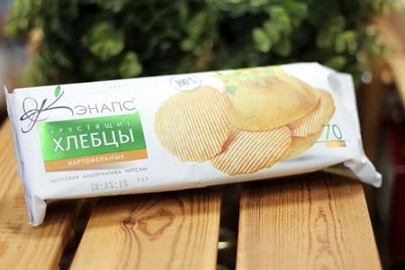 Хлебцы хрустящие ™  Кэнапс  картофельные 70 гр. - фото 6591