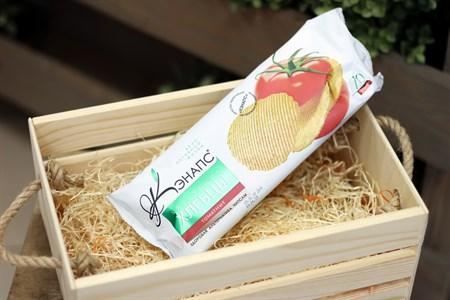 Хлебцы хрустящие ™  Кэнапс  томатные 70 гр. - фото 6592