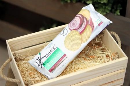 Хлебцы хрустящие ™  Кэнапс  с клетчаткой и луком 70 гр. - фото 6594
