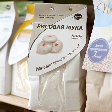 Мука ™  Образ жизни  рисовая 500 гр - фото 6611