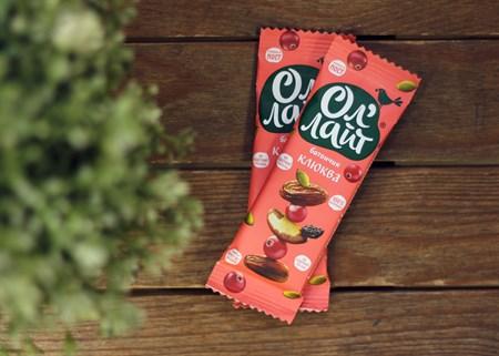 Батончики ™  Ол Лайт  фруктово-ореховый Клюквенный, 30 гр. - фото 6850