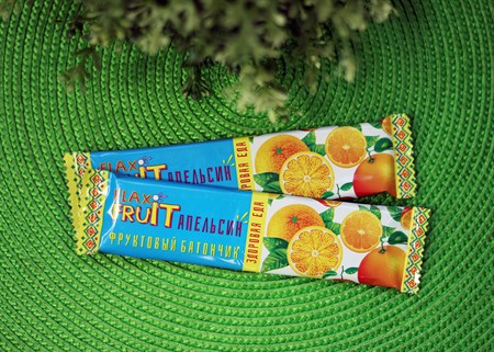 Батончик  FLAX FRUIT  ™  Компас Здоровья  с апельсином 30 гр. - фото 6854