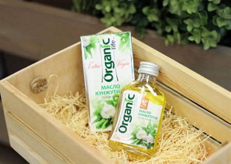 Масло ™  Organic  кунжутное, 100 мл - фото 6868