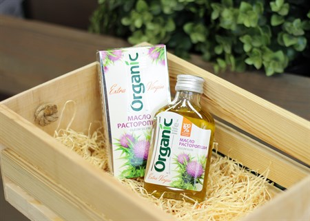 Масло ™  Organic  расторопши, 100 мл - фото 6873
