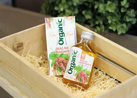Масло ™  Organic  амарантовое, 100 мл - фото 6874