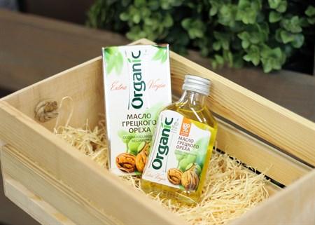 Масло ™  Organic  грецкого ореха, 100 мл - фото 6876