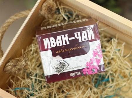 Иван чай ™  Сила Руси  классический 20 пакетов по 2 гр. - фото 6989