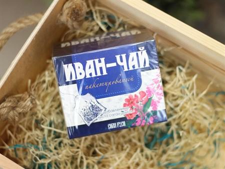 Иван чай ™  Сила Руси  с саган дайля 20 пакетов по 2 гр. - фото 6990