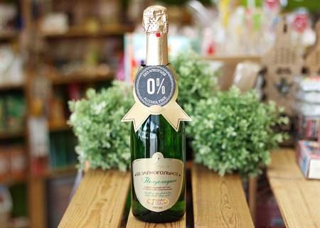 Шампанское ™  Absolute Nature  безалкогольное Полусладкое 0,75л. - фото 7039
