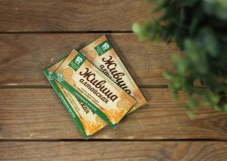 Живица ™  Алтайский нектар   Алтайская  с пчелиным воском,кедровая,блистер 0,8 гр.№4 - фото 7055