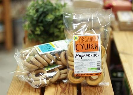 Сушки ™  Компас Здоровья  морковные 200 гр. - фото 7191