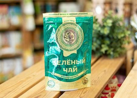 Чай ™  Черный дракон  Изумрудный зелёный 100г - фото 7244