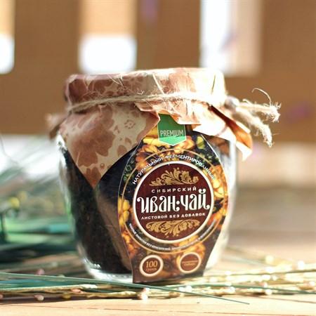 Иван-Чай ™  Сибирский Иван-Чай  листовой зеленый, банка, 85 гр - фото 7255