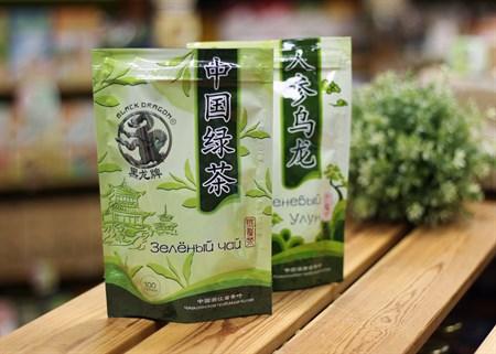 Чай ™  Черный дракон  Зелёный 100г - фото 7257