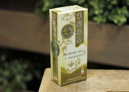 Чай ™  Черный дракон  Жасминовый зелёный пакет 2г*25п - фото 7261