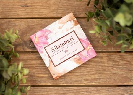 Шоколад ™  Nilambari  горький без сахара, 65 гр. - фото 7274