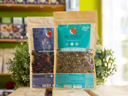 Чай фруктово-травяной ™  BRUSNIKA TEA  Летняя свежесть 100 гр. - фото 7435