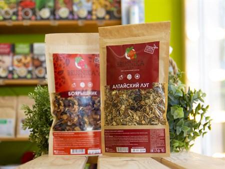 Чай цветочно-травяной ™  BRUSNIKA TEA  Алтайский луг 100 гр. - фото 7440