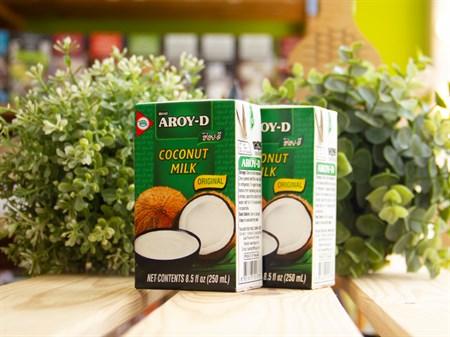 Кокосовое молоко ™  AROY -D  250 мл.коробка - фото 7444