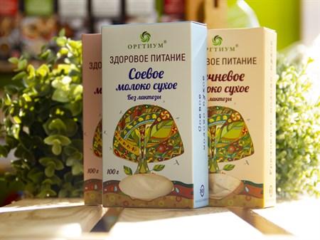 Молоко сухое ™ ОРГТИУМ соевое 100 гр - фото 7517