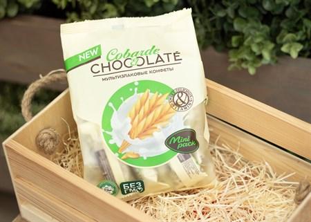 Конфеты ™  COBARDE el  Chocolate  мультизлаковые с белой глазурью 150 гр - фото 7561
