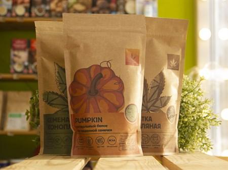 Натуральный белок ™  Konoplektika  из семян тыквы PUMPKIN 250 гр - фото 7610