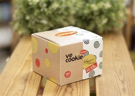 Печенье ™  Meangel   Ve cookie  кукурузное 200 гр - фото 7611
