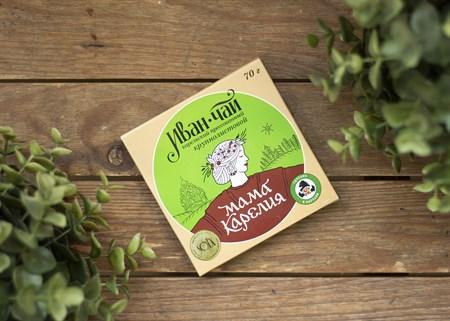 Иван-чай ™  Мама Карелия  прессованный без добавок 70 гр. КАРТОН - фото 7777